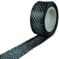 Carbon fabric tape 204 g/m², 50 mm, roll/ 5 m