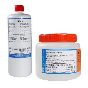 Gel Coat epoxy trasparente epossidico conf. 690 g.