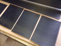 Carbon fabric GG-200 P WF1 1 m2.